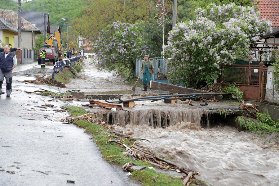 Povodeň v Rudne nad