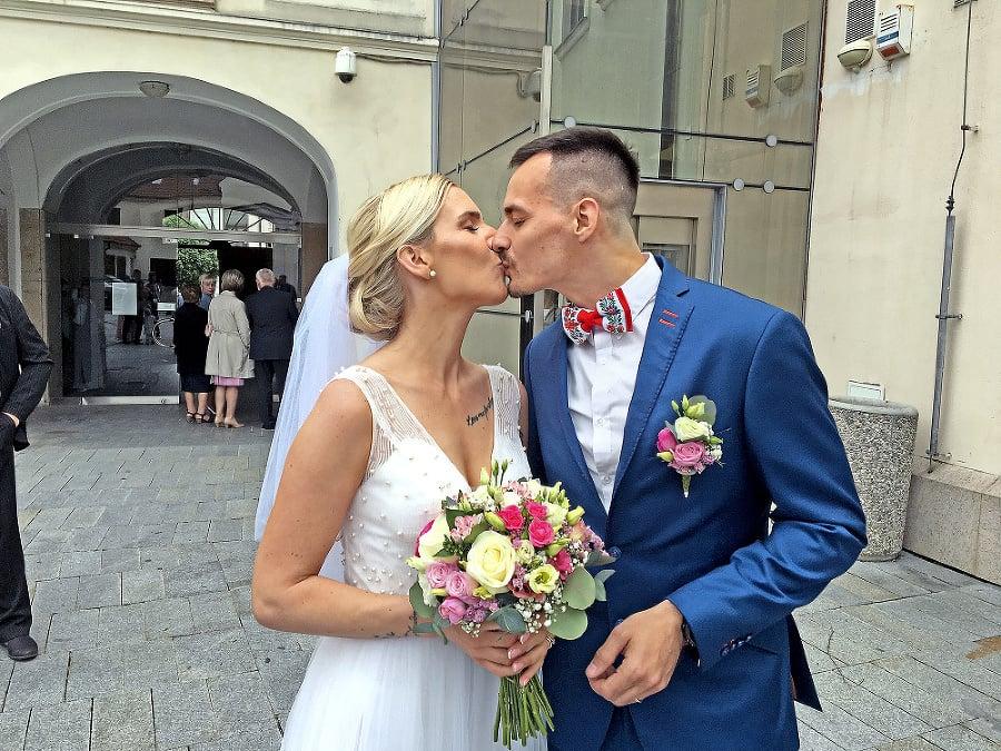 Novomanželia: Barbora a Andrej