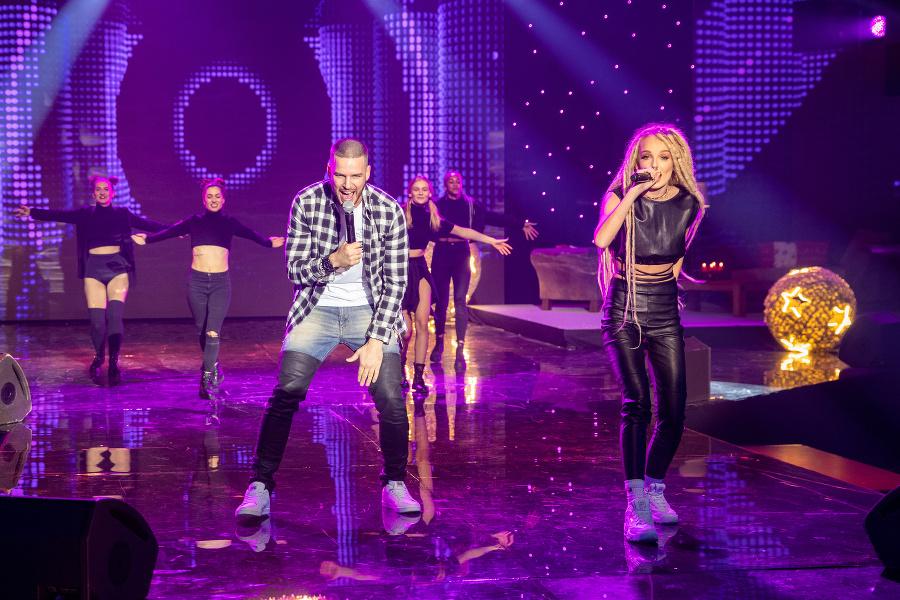 Speváčka Sima a raper