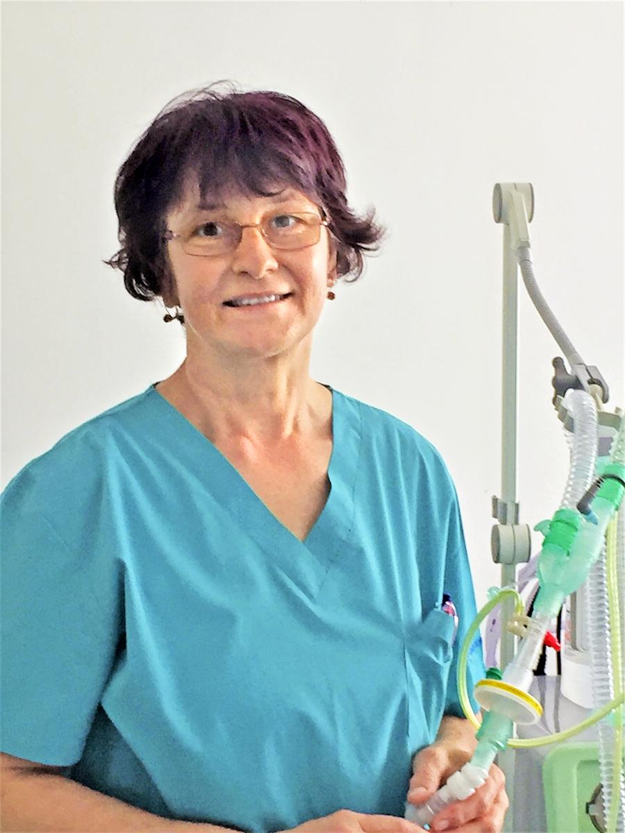 Štefánia Krížová (60) je zdravotníctvu