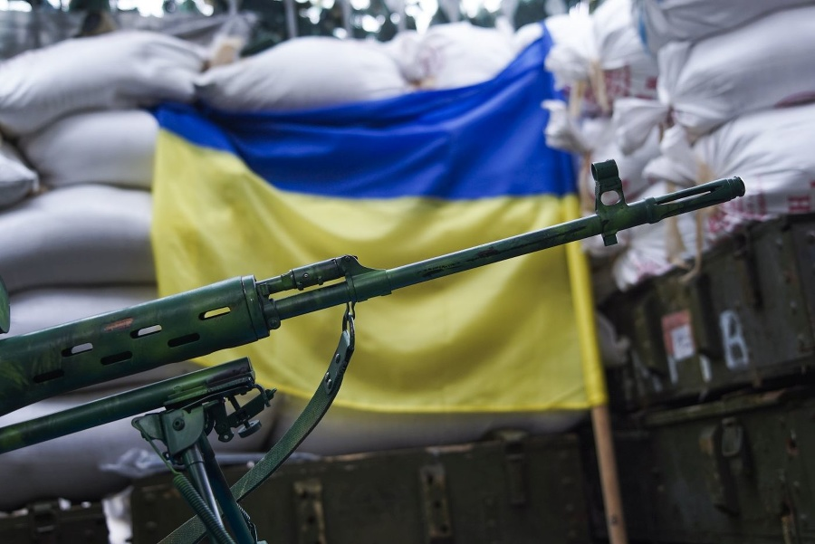 Ukrajinský vojak prišiel o