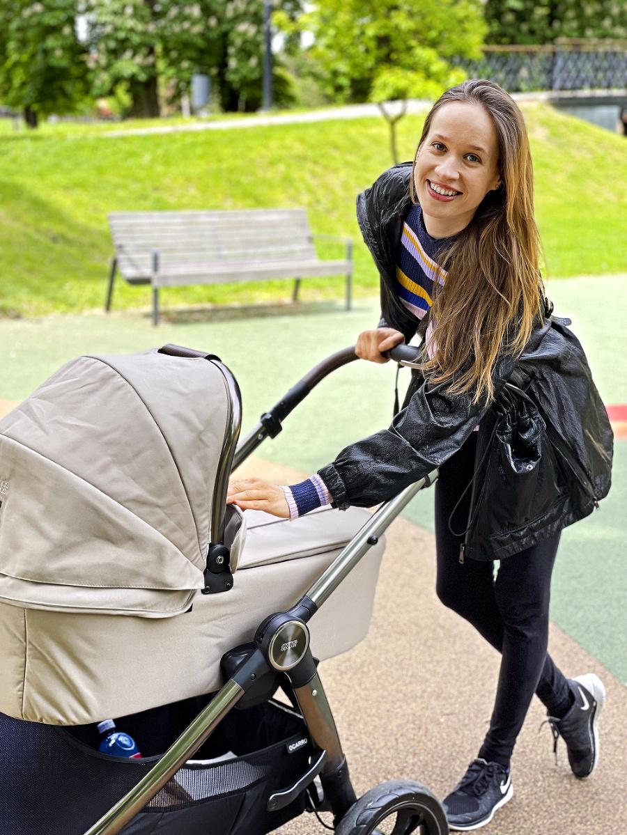 Šťastná mama:  Kristína