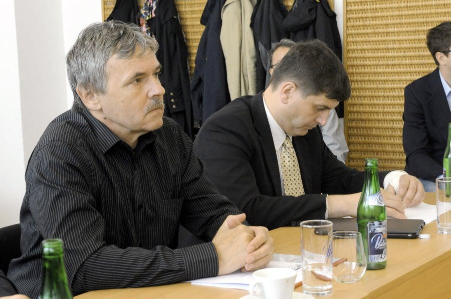 Publicista Juraj Hrabko (vľavo).