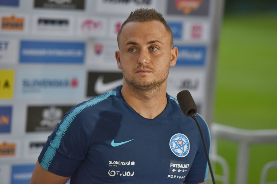 Slovenský futbalový reprezentant Stanislav