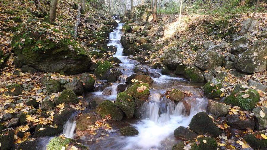 Blatný potok v Zádielskej