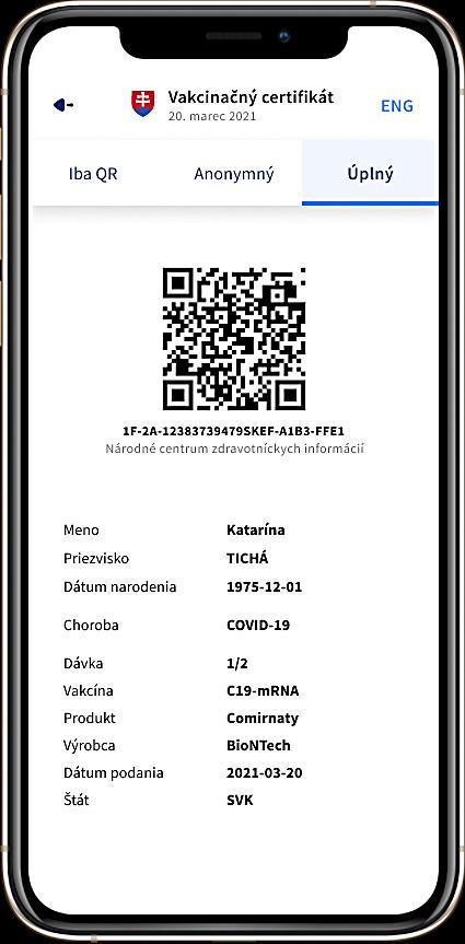 Dôležitým sa stane QR kód, ktorým vás budú vedieť identifi kovať na hraniciach.