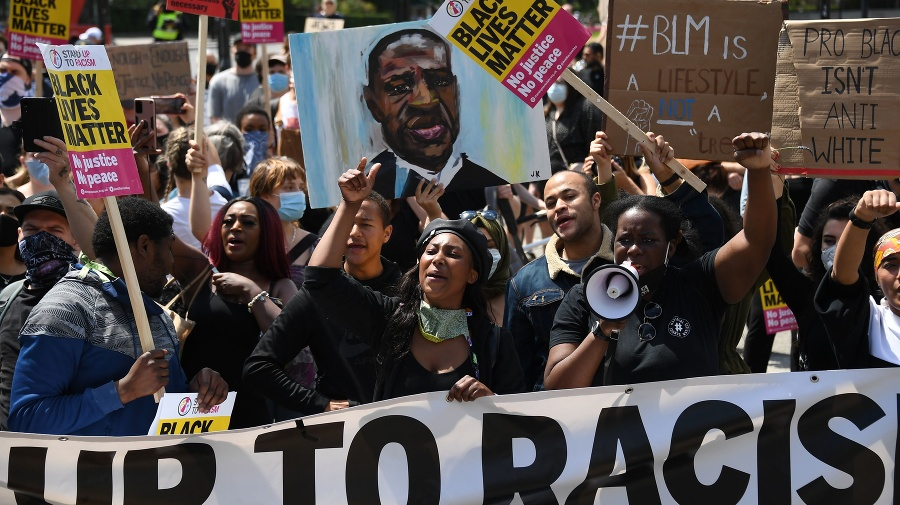 Členovia hnutia Black Lives