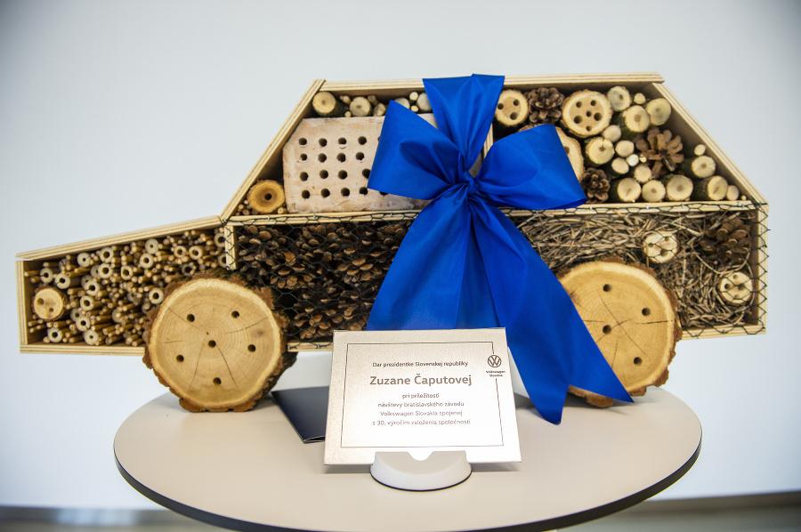 Dar zamestnanca závodu Volkswagen