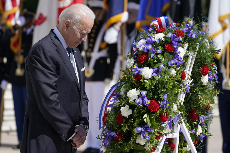 Joe Biden si uctil