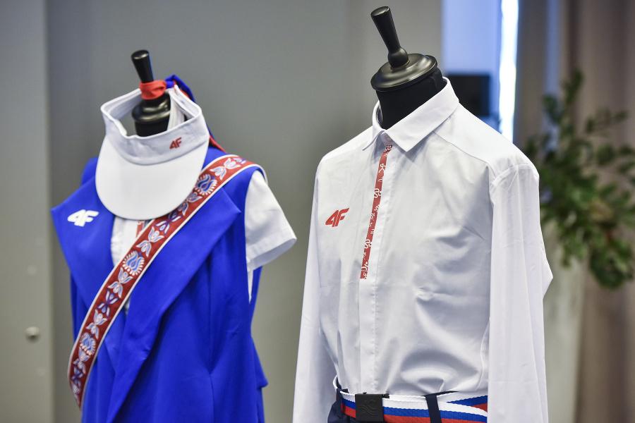 Na snímke kolekcia oblečenia