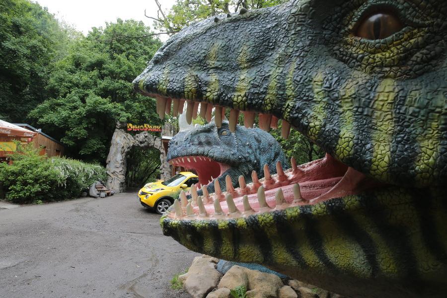 DinoPark v priestoroch zoo