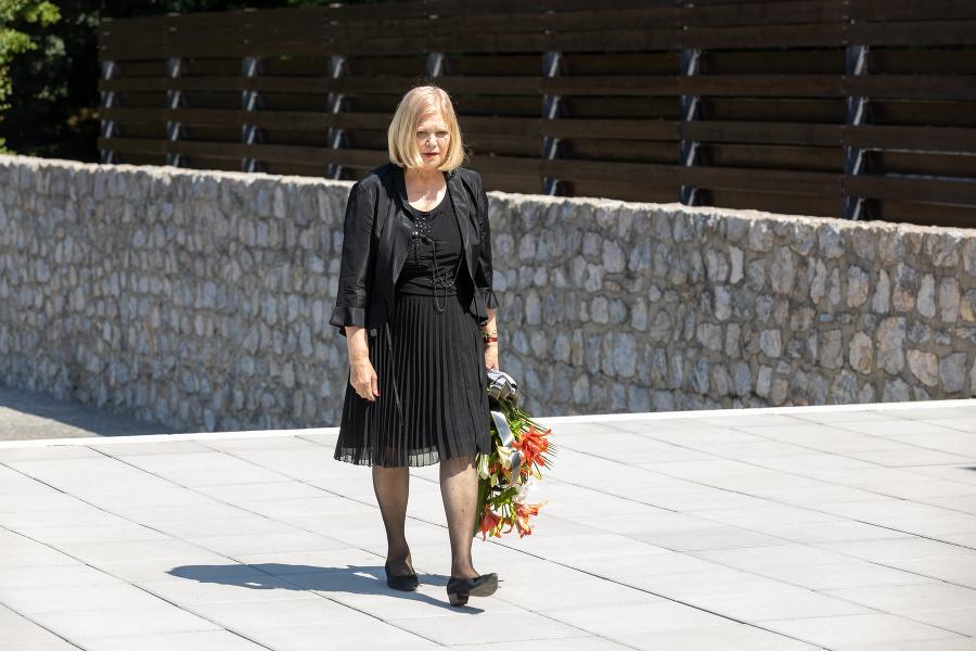 Pohreb Jula Viršíka. Na