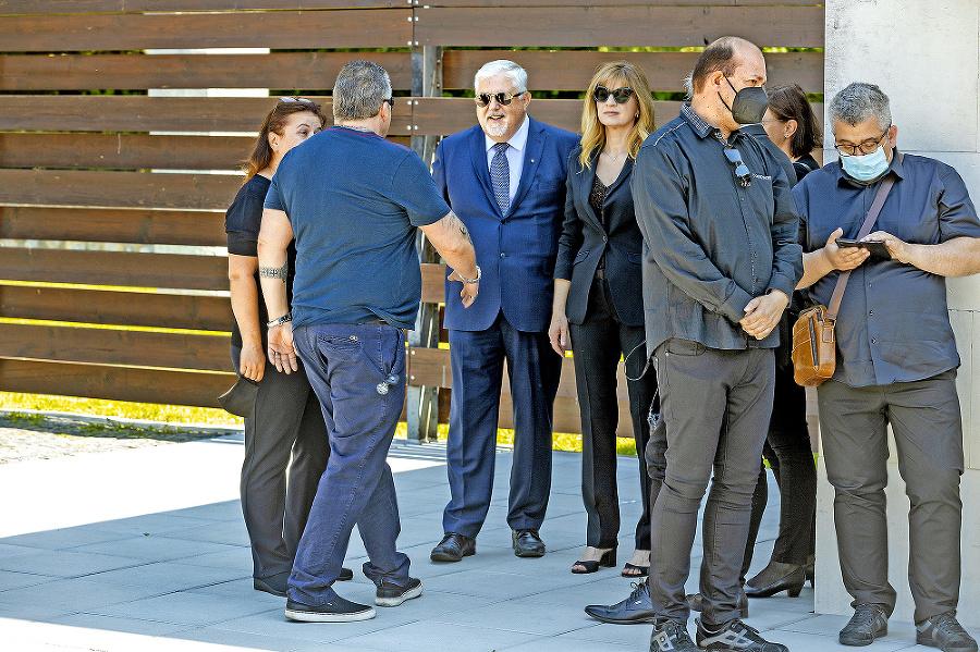 Pohrebu sa zúčastnil aj Oliver