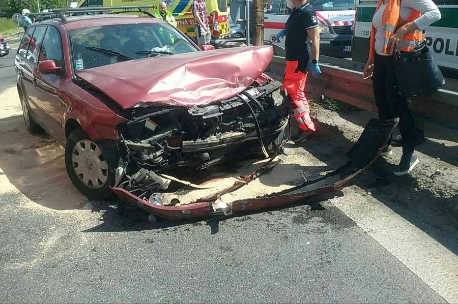 Nehoda v Martine si
