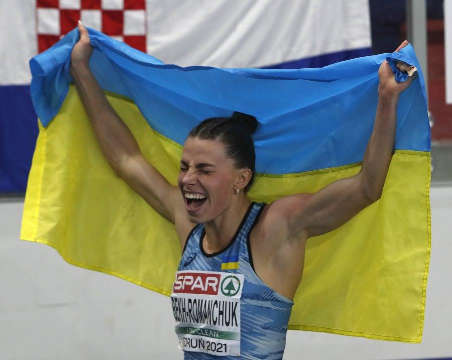 Ukrajinka Maryna Bechová-Romančuková sa