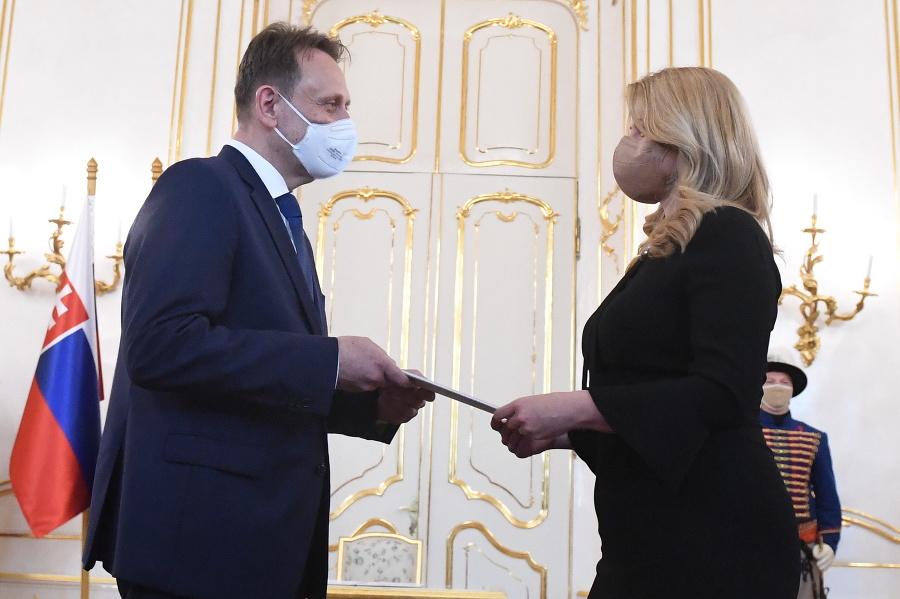 Prezidentka Čaputová prijala demisiu