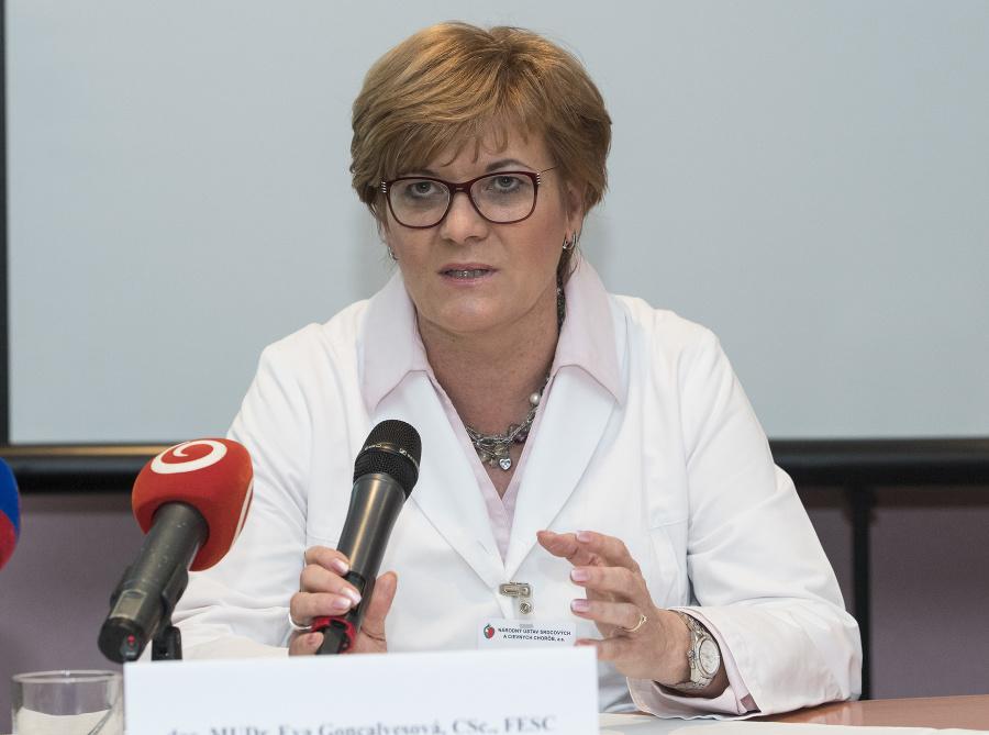 Eva Goncalvesová, prednostka Kardiologickej