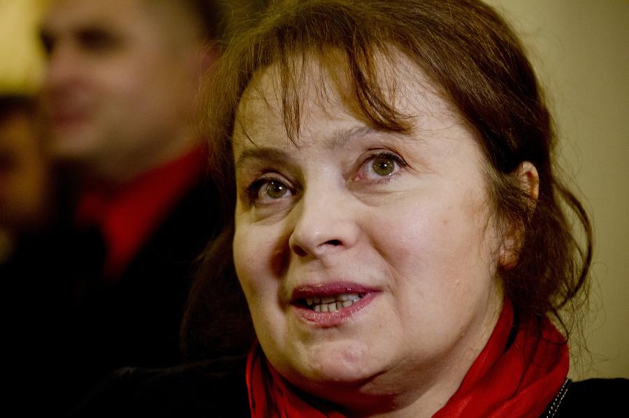 Česká herečka Libuše Šafránková