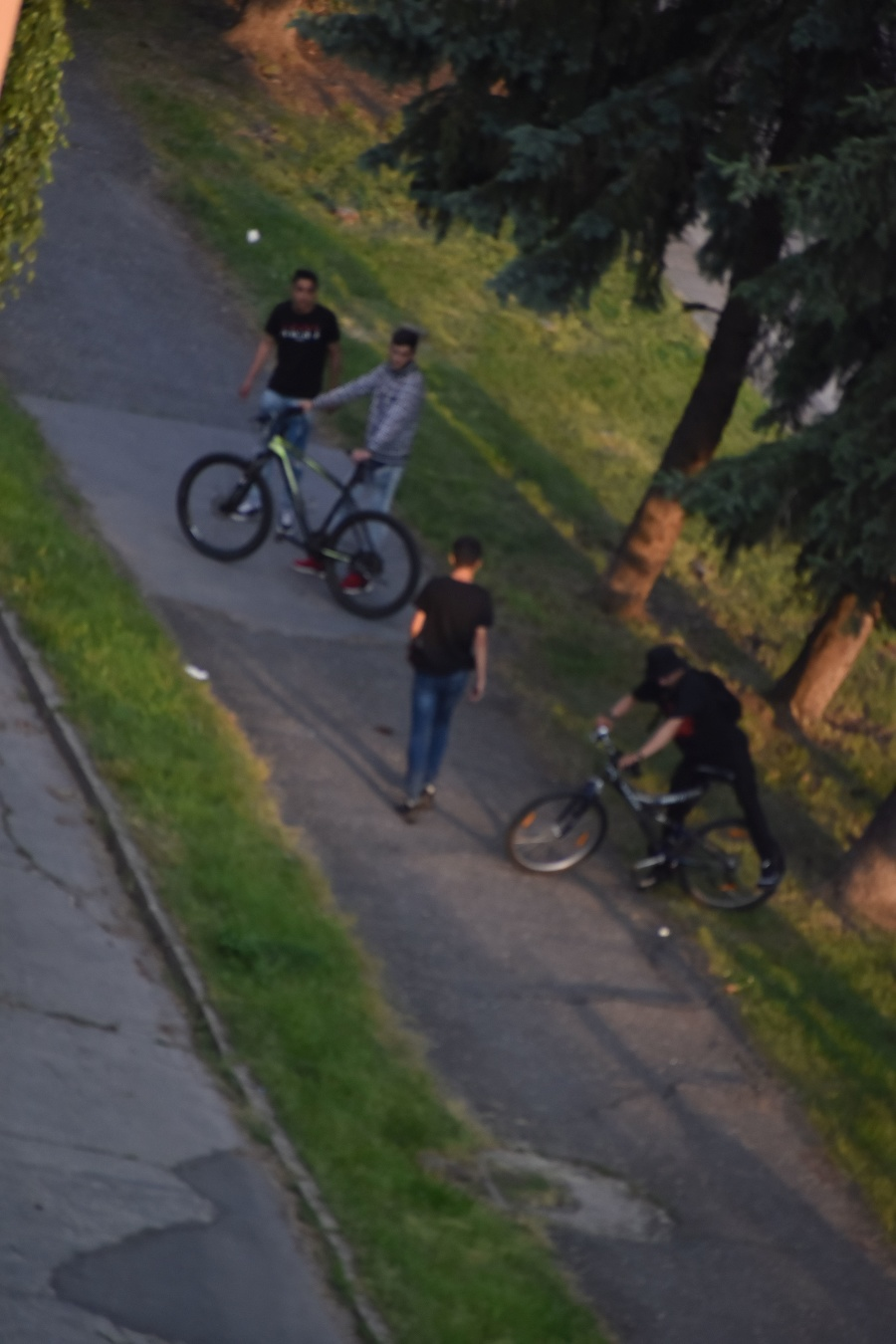 Mladíci po incidentu z