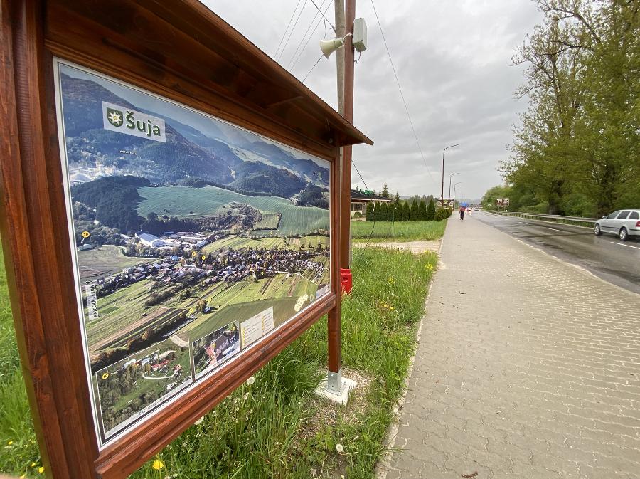 Bezpečný cyklochodník z obce Šuja do Rajca zaplatili eurofondy.