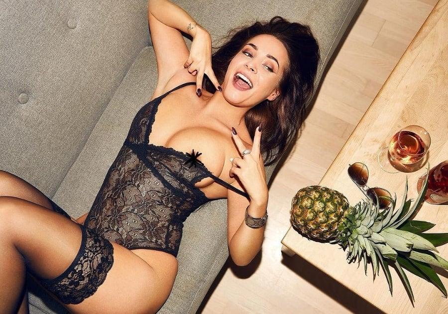 Modelka Katrina Maria je