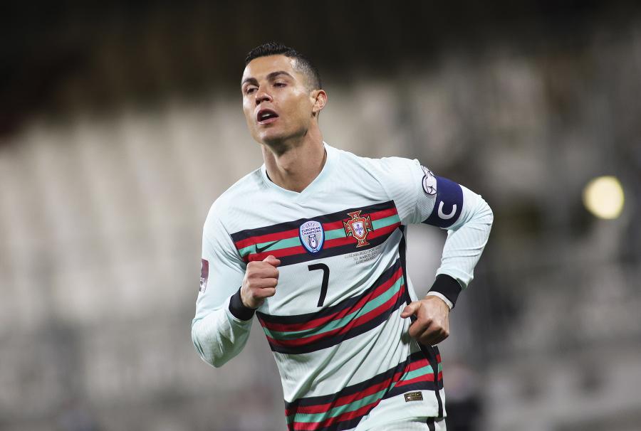 Cristiano Ronaldo v drese