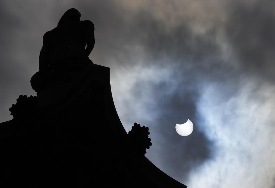 Zatmenie Slnka z Trafalgarskeho