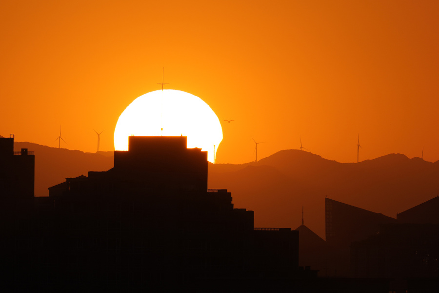 Takto vyzeralo zatmenie slnka