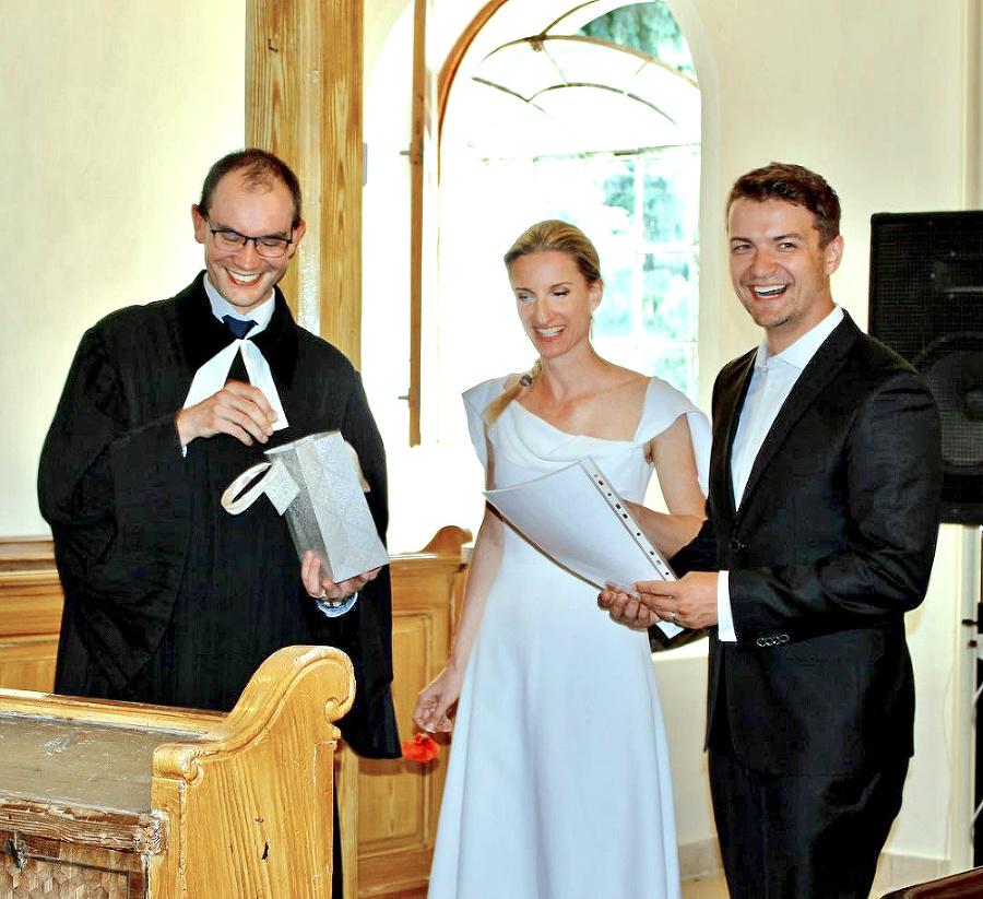 Vinczeovci uzavreli manželstvo pred štyrmi rokmi.
