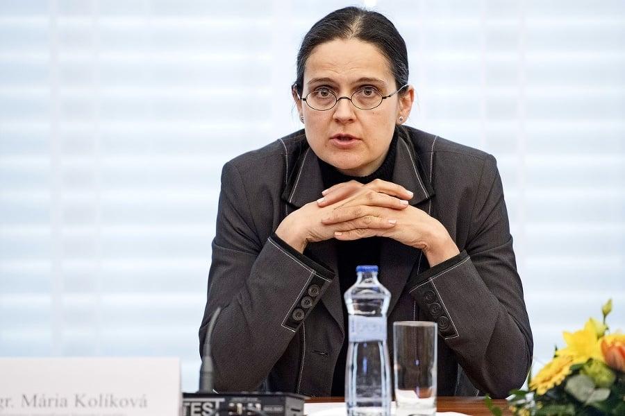 Mária Kolíková - Ministerstvo