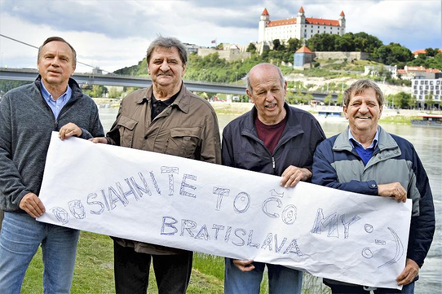 Slovenské futbalové legendy.