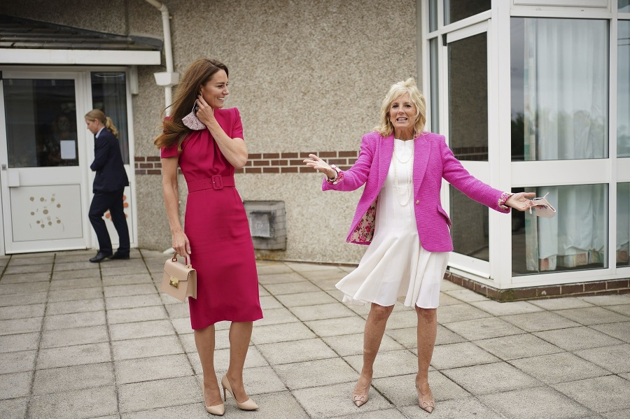 Vojvodkyňa Kate na stretnutí