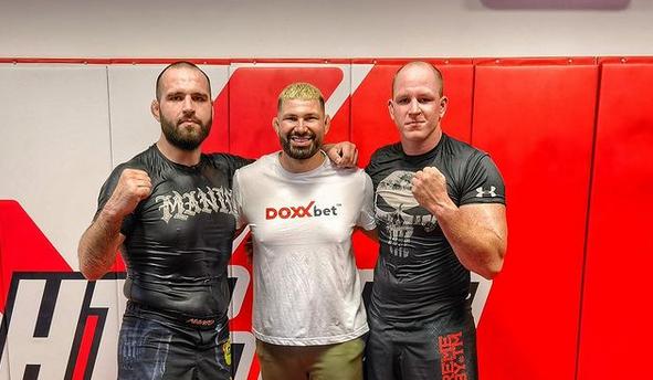 Slovenský bojovník MMA Martin