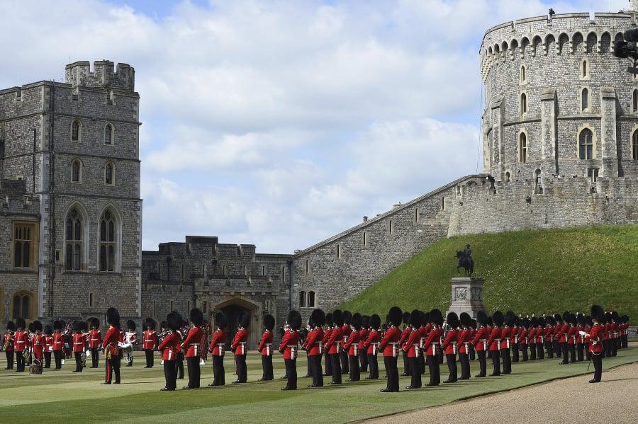 Členovia kráľovskej stráže