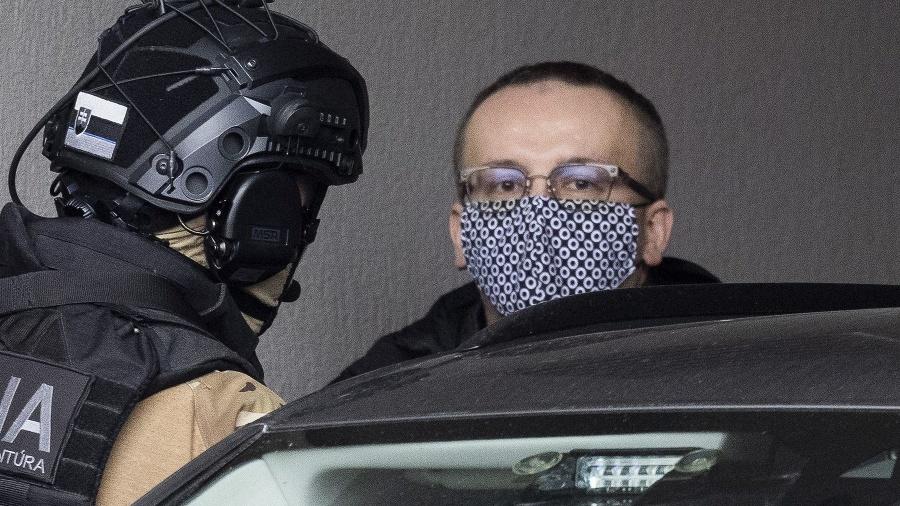 Na snímke obvinený riaditeľ