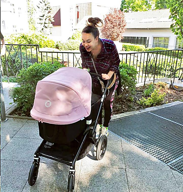 Čerstvá mama: Dcérka Maia