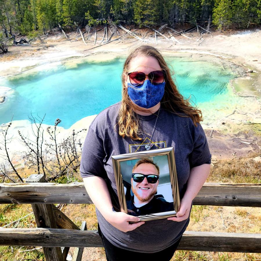 Margaret v Yellowstonskom národnom