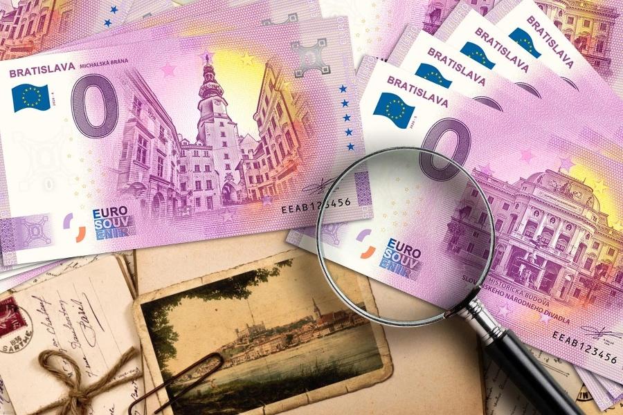Nulaeurová bankovka