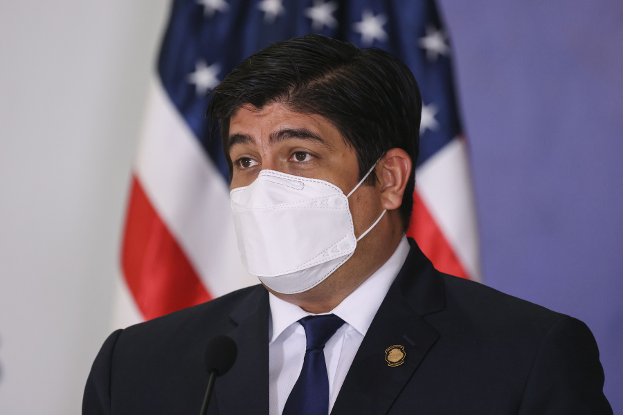 Prezident Carlos Alvarado Quesada