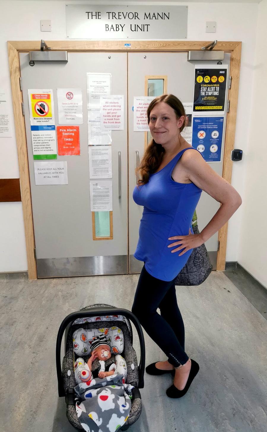 Mamička sa počas tehotenstva