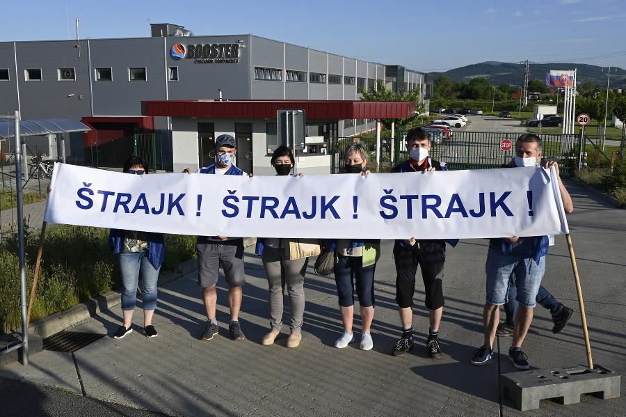 Štrajk belušských strojárov