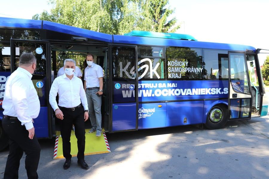 Krajský očkovací autobus bude
