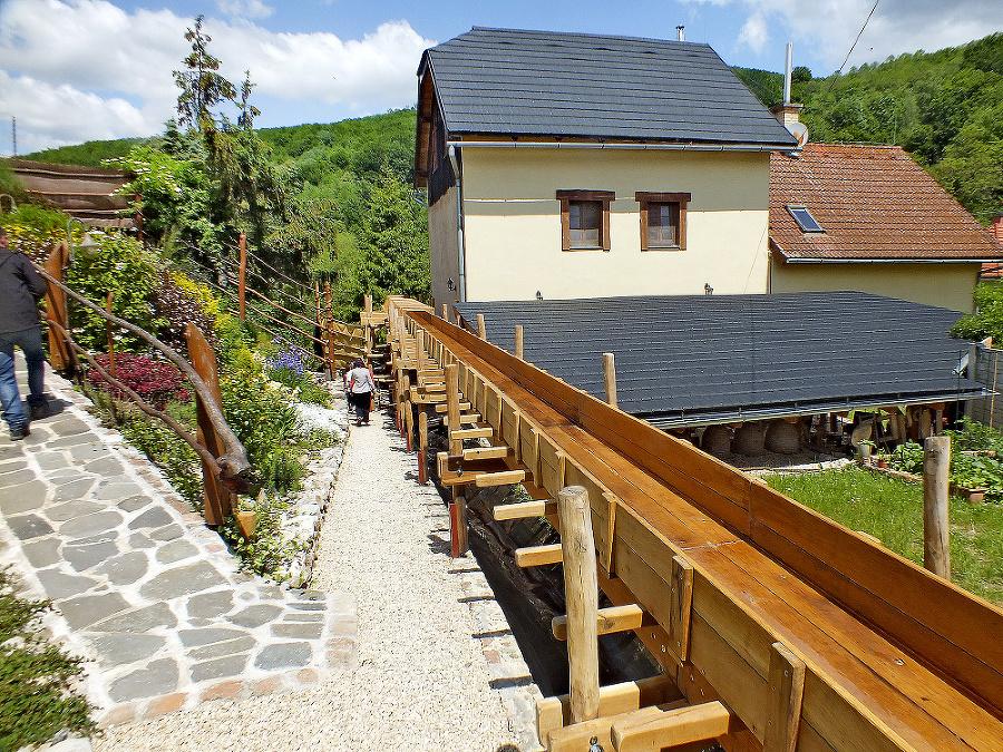 Mlyn v Kováčovej je novou atrakciou blízko Rožňavy a Zádielskej tiesňavy.