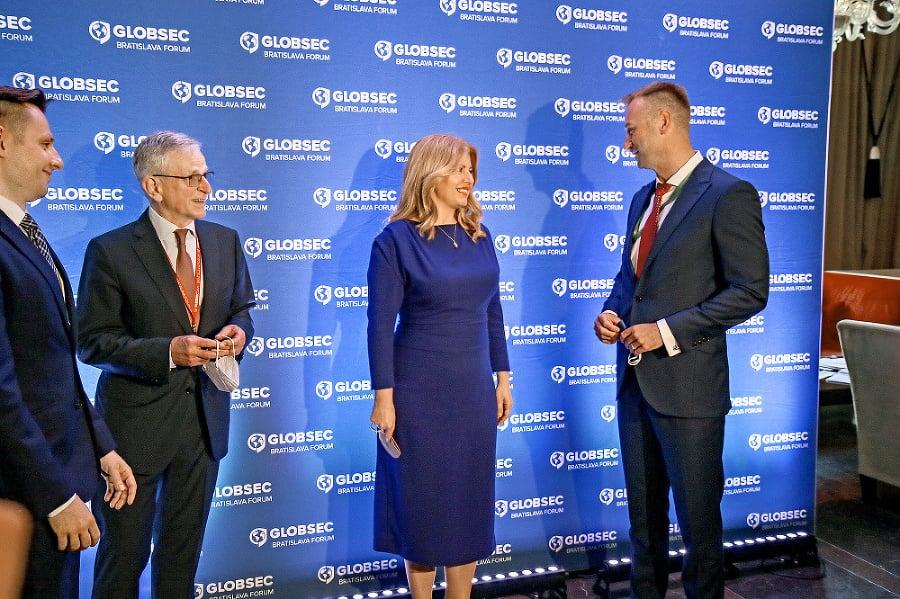 Prezidentka  Zuzana  Čaputová na konferencii GLOBSEC