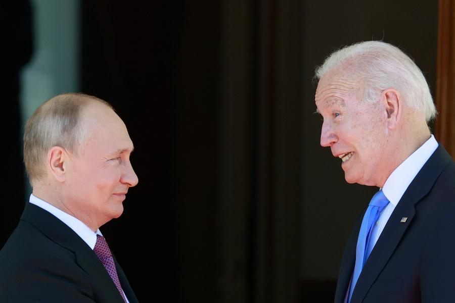 Stretnutie Bidena a Putina