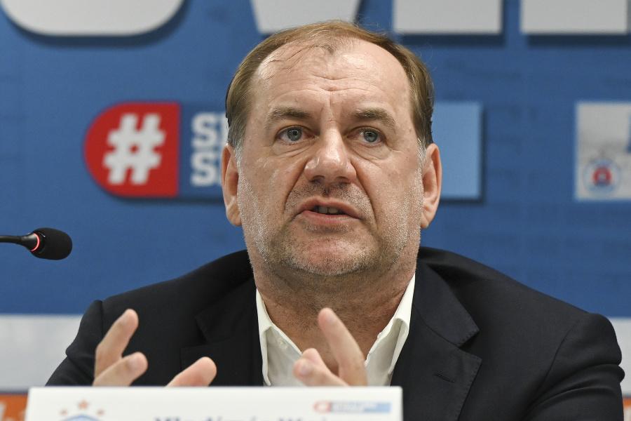 Nový tréner Slovana Vladimír