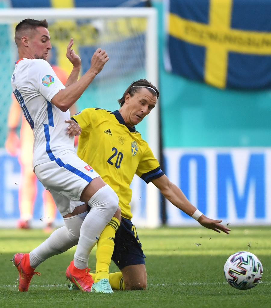 Róbert Mak a švédsky