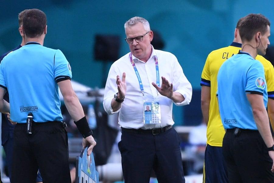 Tréner švédskej futbalovej reprezentácie