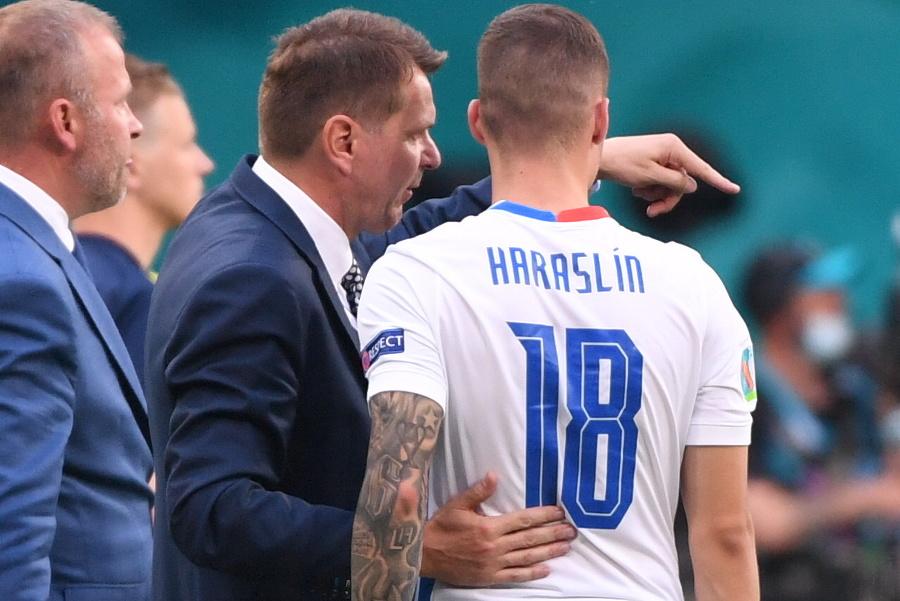 Tréner Štefan Tarkovič dáva