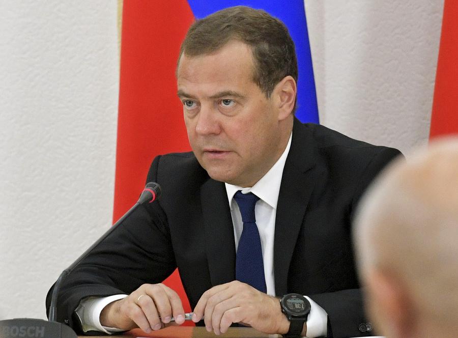 Bývalý ruský prezident a
